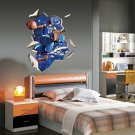 Orlando Magic Dwight Howard Dunk 3D Decal Wall Sticker Decor
