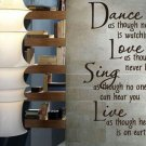 Inspirational Wall Decal Quotes Removable Sticker Wall Art Decor Mural