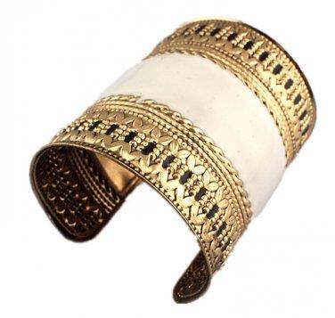 Indian Style Cuff Bangles Elegant Oil-Spot Glaze Muslim Jewellery