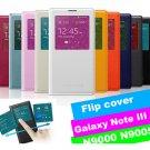 Samsung Galaxy Note 3 N9000 N9005 S View Flip Case Housing