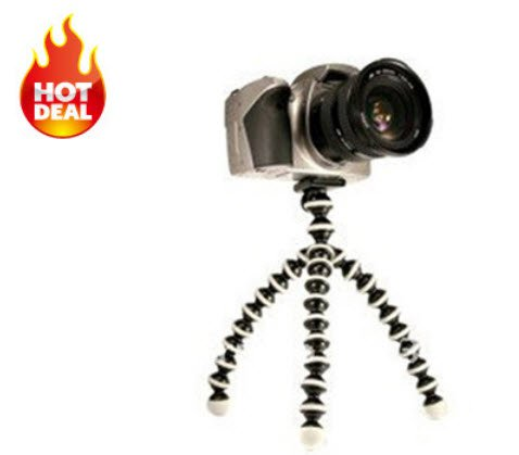 Flexible Digital DSLR Camera Tripod Stand Holder