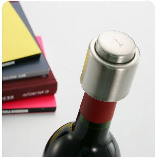 Wine Bottle Vac Vacuum Air Tight Sealer Oxidation Stopper Cork Plug