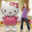 Large Hello Kitty Foil Party Balloon Toy Doll 115cm