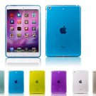 Lot 10 Crystal Clear Transparent TPU Silicone Rubber Skin Gel Case for iPad 1 2 with Retina 7.9""