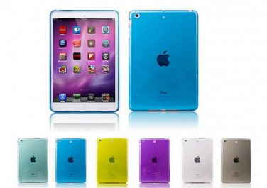 """Lot 10 Crystal Clear Transparent TPU Silicone Rubber Skin Gel Case for iPad 1 2 with Retina 7.9"""""""