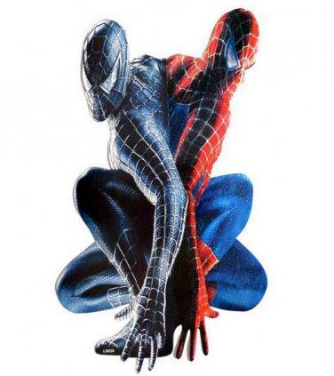 Spiderman 2 Dual Dark Light Decal Wall Poster Decor
