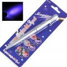 007 Lot 5 Invisible Ink Spy Pens Marker Magic Pencil & UV Pen Light