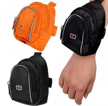 Sports Wrist Bag Pouch Fanny Waist Pack Arm Strap Clutch Bag