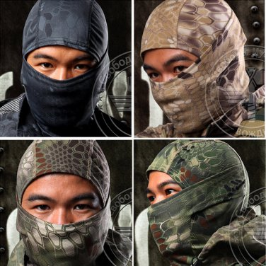 Tactical Ninja Snake SS Face Mask Mortal Kombat King Cobra G.I Joe