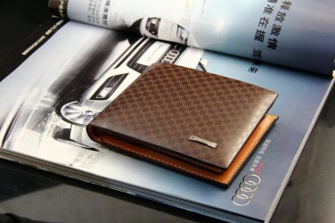 2015 Mens Genuine Leather Casual Wallet