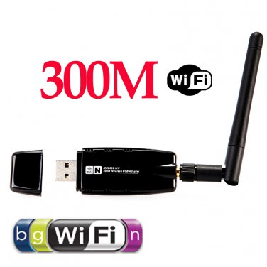 300Mbps Wireless USB Wifi Network Adapter Receiver Antenna