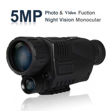 Night Vision Hero Infrared Digital Camera 5MP FREE DHL Shipping