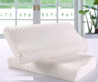 Orthopedic Memory Foam Pillow Ergonomic Head Rest 50x30
