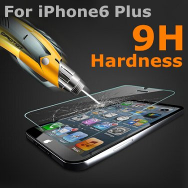 iPhone 6 Plus Tempered 9H Glass Screen Protector Gorilla Glass