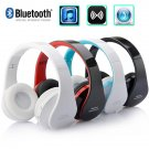 Wireless Bluetooth Foldable Headphones Earphones With Mic For iPhone Galaxy HTC