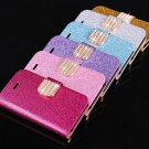 iPhone 5C Glittering Bling Phone Case Card Holder