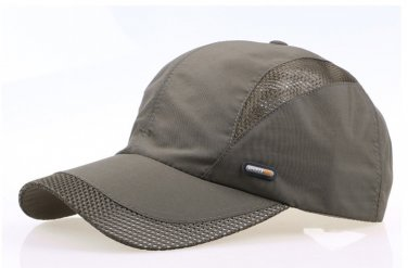 Kids Quick Dry Breathable Baseball Cap Hat With Airflow Mesh