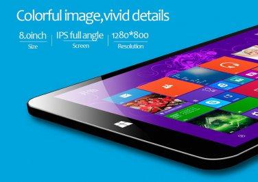 "64 Bit Windows 8.1 Quad Core 8"" IPS Tablet Bluetooth Wifi"