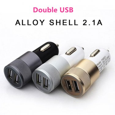 Dual USB Car Charger For iPhone 5 6 6 plus Samsung Galaxy S4 S5