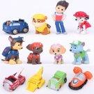 Paw Patrol 12pcs Figures With Car Toys 2015 Kids Toys
