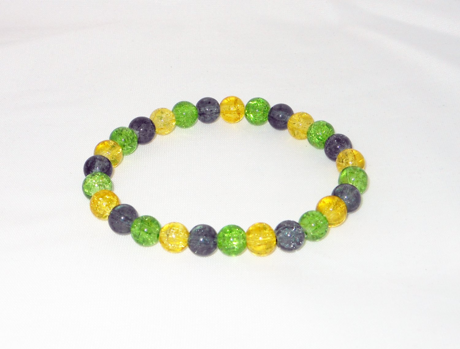 Jamaica Inspired Glass Bracelet