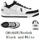 SMR  Reebok black and white