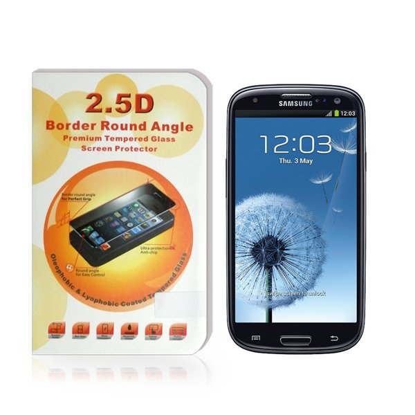 Premium Tempered Glass Screen Protector for Samsung GALAXY S3 GT-I9300 I9300