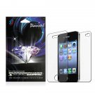 Front/ Back Diamond Screen Protector Film For Apple iPhone 4/ 4S(2-Pack)