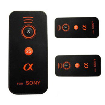 Wireless IR Remote Control For Sony Alpha SLT-A580 A33 A55 Digital SLR Camera