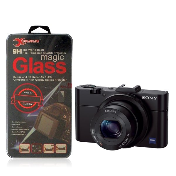 Real 9H Tempered Glass Screen Protector for Sony Cyber-shot DSC-RX100 II Camera