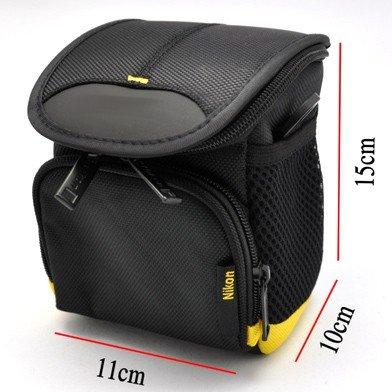 Camera Case Bag w/ Shoulder Strap for Nikon 1 J1 / CoolPix P7700 Digital Camera
