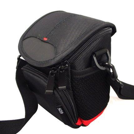 Camera Case Bag w/ Shoulder Strap for Nikon CoolPix L810 L120 Digital Camera