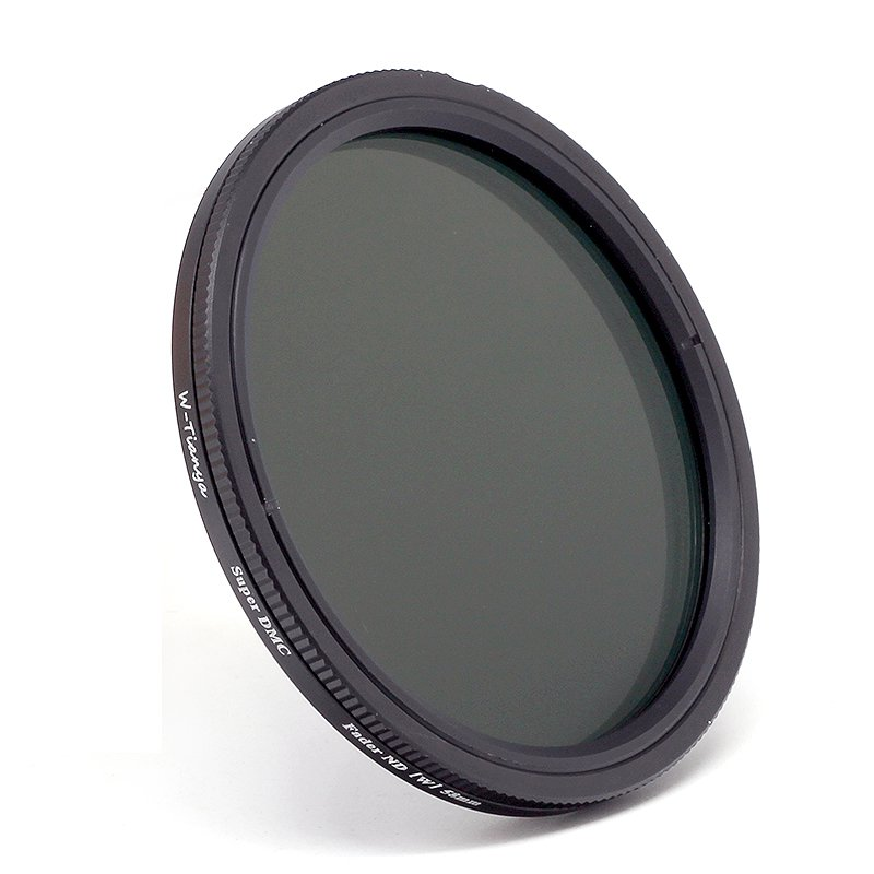 WTIANYA 49mm Ultra Slim ND2-400 Variable Neutral Density Fader ND Filter ND2 to ND400
