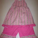 Girls Halter and Capri Set size 8-10