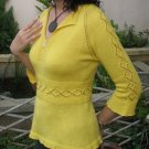 Sunshine Top Knit Pattern in PDF