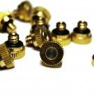 AZCOOLMIST Brass Mist Nozzles 10 Pack .016 /.4mm Stainless Orifice 10/24 thread