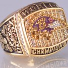2000 Baltimore Ravens super bowl championship ring size 11 US