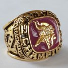 1973 Minnesota Vikings NFC National Football Championship ring size 11 US