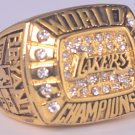 2000 Los Angeles Lakers Basketball Championship ring replica size 10 US