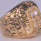 2001 Los Angeles Lakers ring Basketball Championship ring replica size 10 US