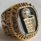 1985 Los Angeles Lakers Basketball Championship ring replica size 10 US