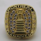 1960 NHL Montreal Canadiens Stanley Cup Championship ring size 8-14 US