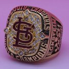 2006 St Louis Cardinals Baseball championship ring size 10 US