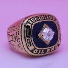 1984 Edmonton Oilers NHL ring Hockey championship ring size 12 US