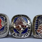 A set Boston Red Sox 2004 2007 2013 Baseball championship ring MLB ring size 11 US