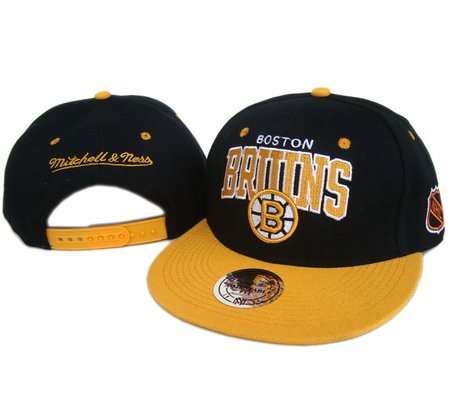 Boston Bruins NHL Hat adjustable cap 005
