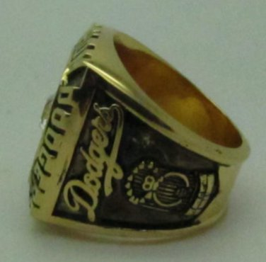 1988 Los Angeles Dodgers Baseball championship ring MLB ring size 10 US