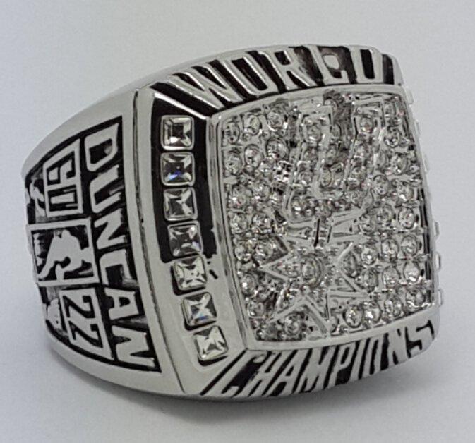 2003 San Antonio Spurs Basketball Championship ring replica size 10 US