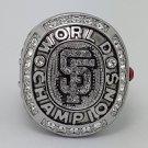 2010 San Francisco Giants world series MLB ring Baseball championship ring size 11 US