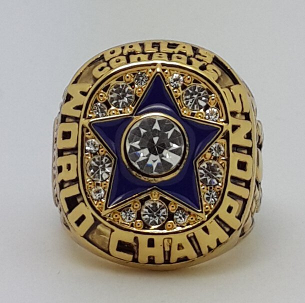 1971 Dallas Cowboys ring super bowl championship ring size 11 US